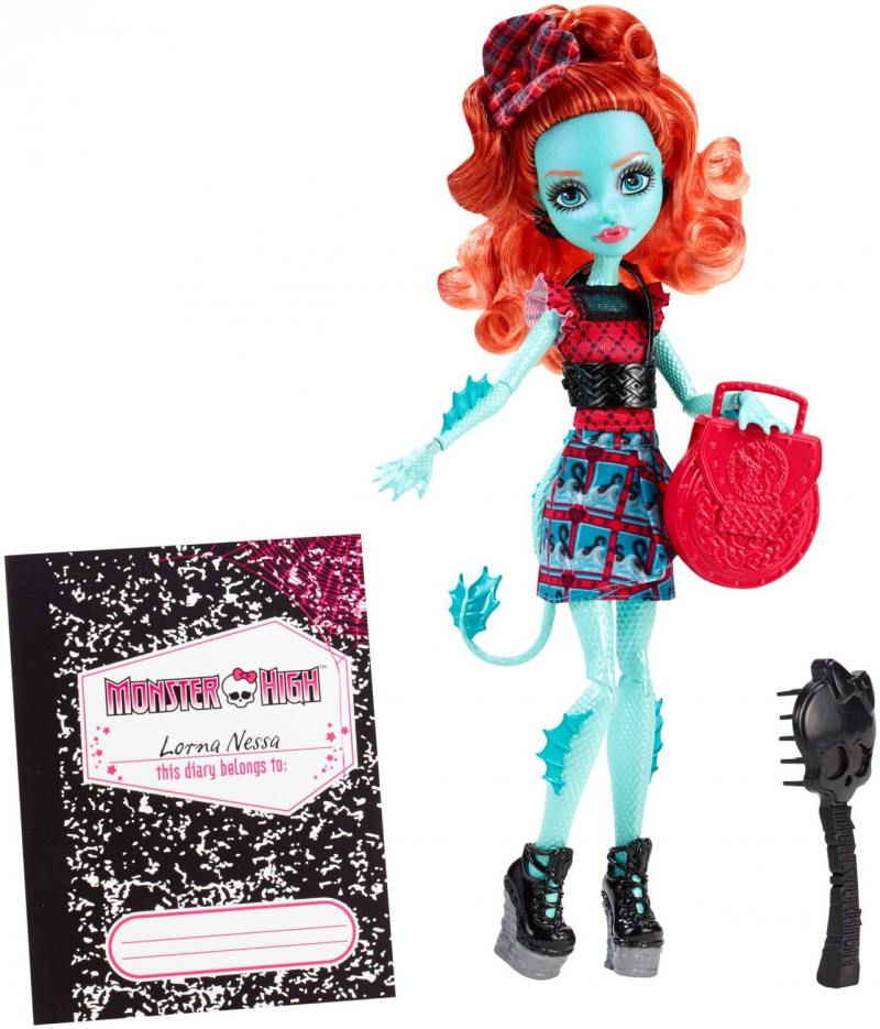Monster High из серии Школьный обмен Lorna McNessie CFD17/CDC36 кукла monster high школьный обмен лорна макнесси cfd17 cdc36