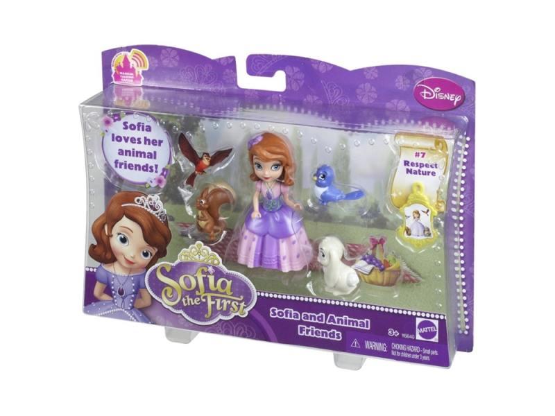 Игровой набор Mattel Sofia the First София и друзья животные №7 Y6640