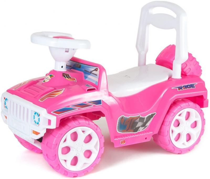 ОР419 Каталка RACE MINI Formula 1 розовая 5558 цена