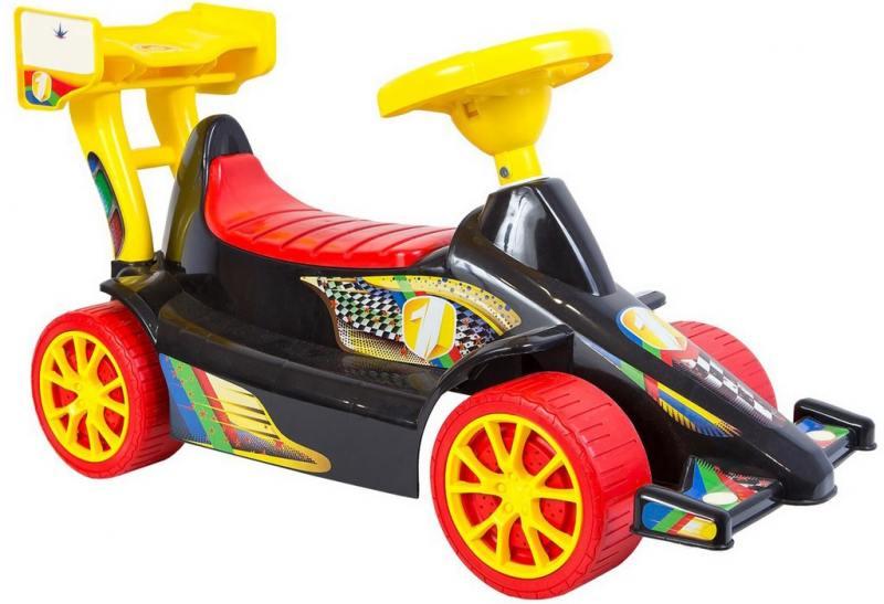 ОР894 Каталка Гоночный Спорткар Super Sport 1 цвет черно-красный  5293 ковер mega carving 4780 beige 1500х800мм полипропилен