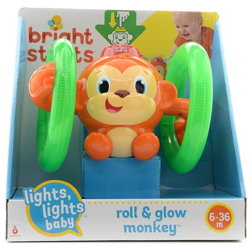 Развивающая игрушка Bright Starts Обезьянка на кольцах развивающие игрушки bright starts развивающая игрушка bright starts обезьянка на кольцах