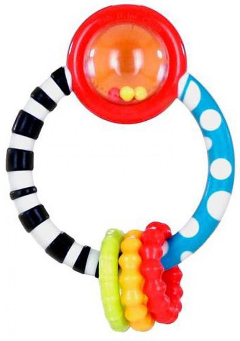 Игрушка-прорезыватель Bright Starts Колечко игрушка прорезыватель bright starts гусеничка оранжевая