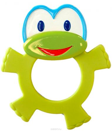 Игрушка-прорезыватель Bright Starts «Лягушонок» игрушка прорезыватель bright starts гусеничка оранжевая