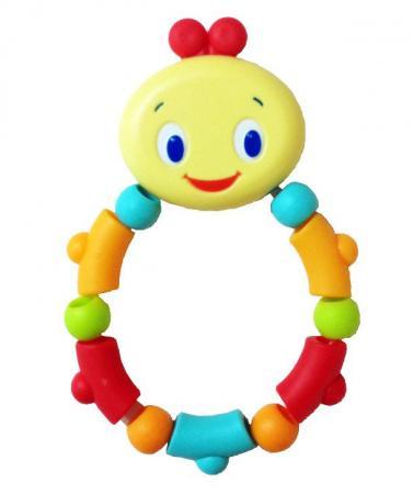 Игрушка-прорезыватель Bright Starts «Гусеничка», оранжевая прорезыватель bright starts слоненок