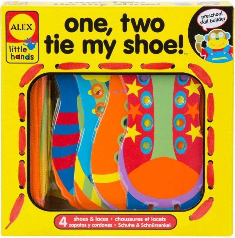 Игрушка-шнуровка Раз, Два, зашнуруй меня, от 3-х лет 1457 alex alex шнуровка завяжи шнурки