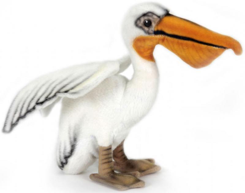 Пеликан 16 см 2960 мягкие игрушки hansa пеликан 28 см