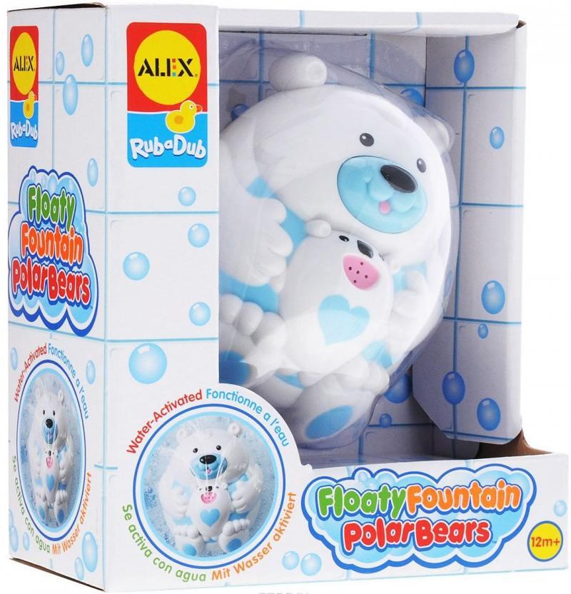 Игрушка для ванны Полярный медвежонок, от 3 лет 841B пластмассовая игрушка для ванны alex полярный медвежонок 11 см 841b