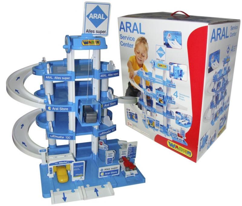 Паркинг Wader ARAL 4-уровневый 37879, Игрушки  - купить со скидкой