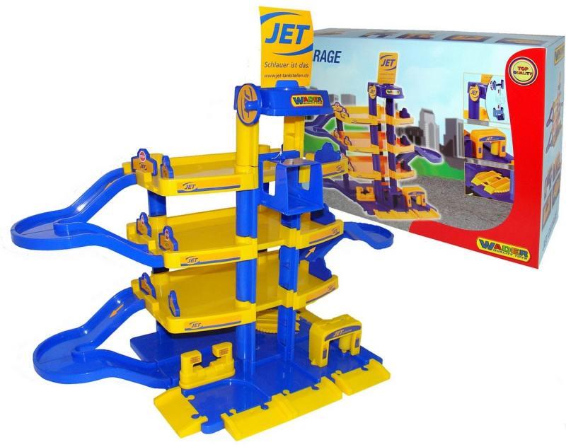 Купить Паркинг Wader JET 4-уровневый 40213, Игрушки
