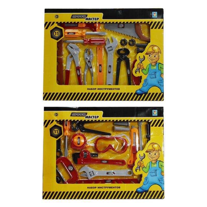 Игровой набор 1 Toy Профи-мастер 11 инструментов