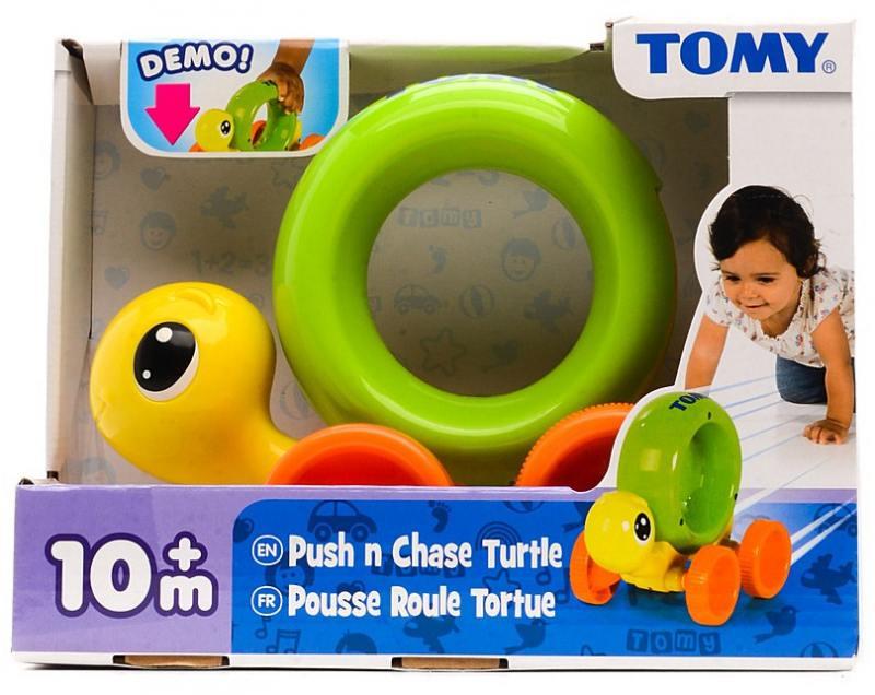 Интерактивная игрушка Tomy Черепашка на колесиках игрушки интерактивные tomy интерактивная игрушка слоник учится ходить