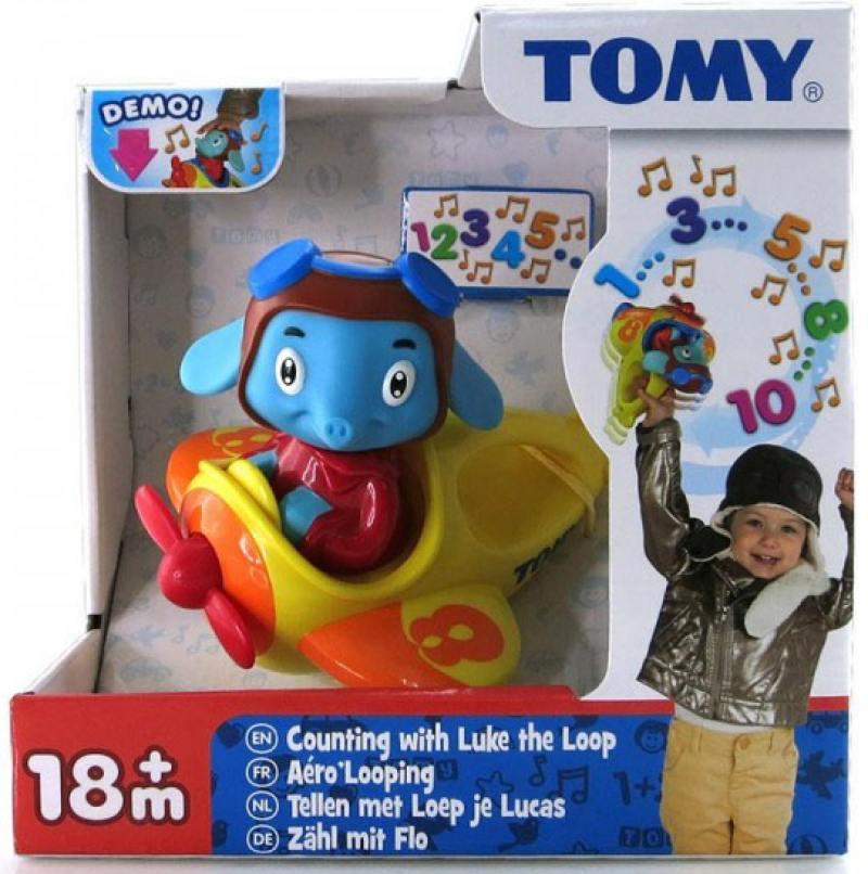 Интерактивная игрушка tomy весёлые виражи летчика