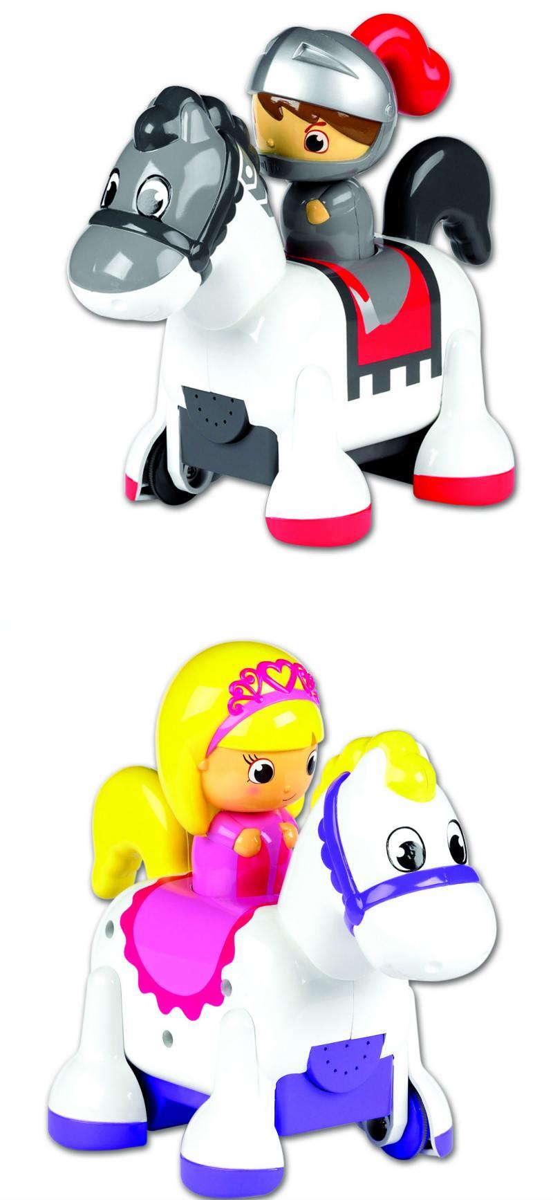 Интерактивная игрушка Tomy Принцесса-всадница Рыцарь-всадник tomy farm приключения трактора джонни и поросенка на ферме