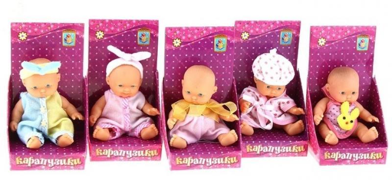 Пупс 1 Toy Карапузик в одежде 1 toy т53140