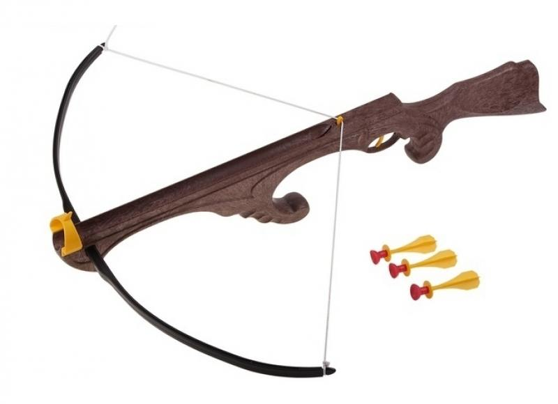 Арбалет Bauer Викинг с тремя стрелами на присосках bauer