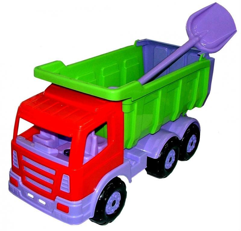 Автомобиль-самосвал Wader Премиум, с большой лопатой 9844 автомобиль самосвал wader буран 2