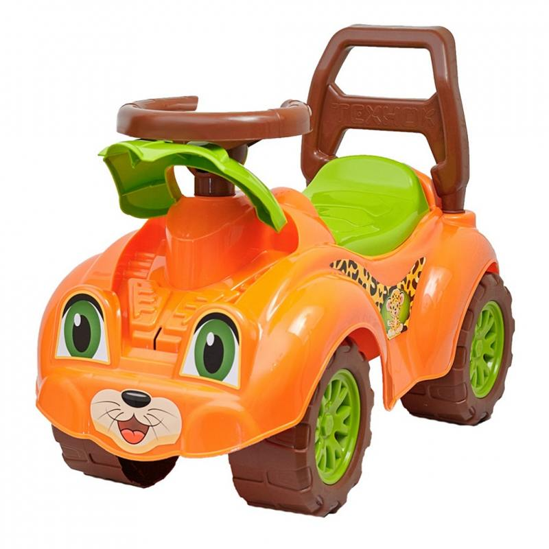 Каталка-ходунок Rich Toys Zoo Animal Planet Леопард оранжевый Т3268