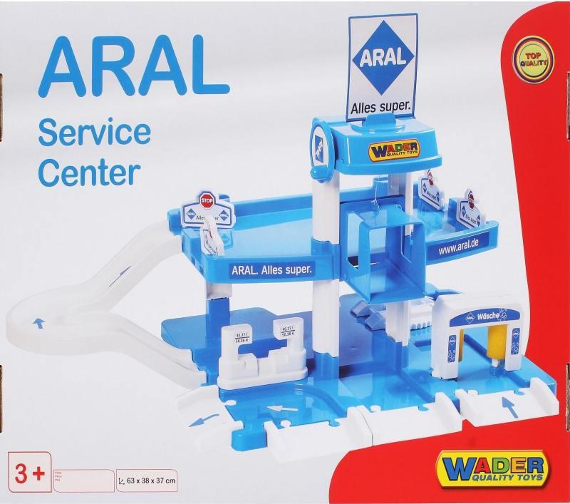 Купить Паркинг ARAL-2 2-уровневый Wader 37886, Игрушки