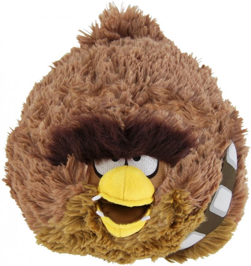 Angry Birds Star Wars мягкая игрушка 12см, Чубака93231 angry birds игрушки москва