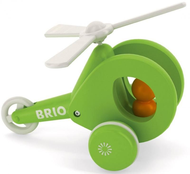 Каталка на шнурке Brio Вертолёт