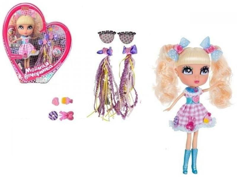Zhorya Модная вечеринка кукла 26см, сменные аксессуары, 9,5х28х32смХ75785