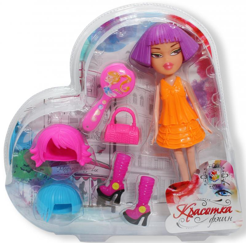 Красотка фэшн кукла с аксессуарами Т57132 кукла с аксессуарами 1toy т57129
