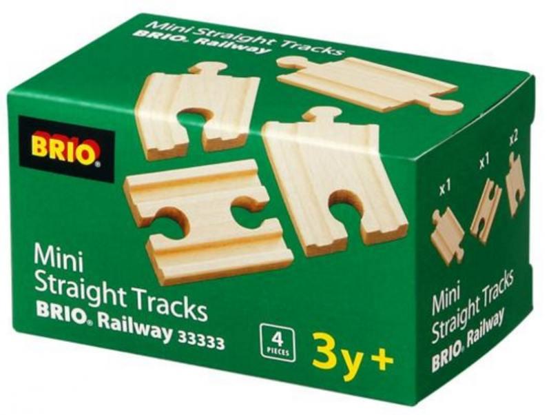 Железная дорога Brio полотно прямое 33333