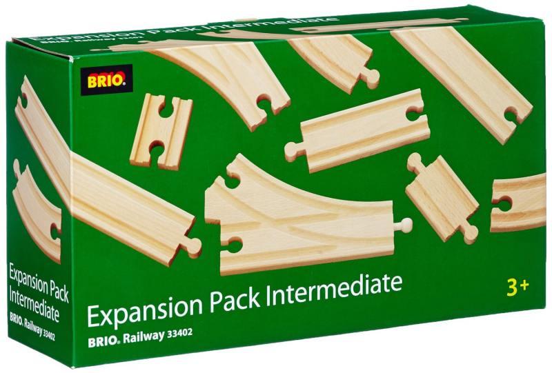Железная дорога Brio полотно базовые элементы 33402 железные дороги brio железная дорога с автодорогой и переездом