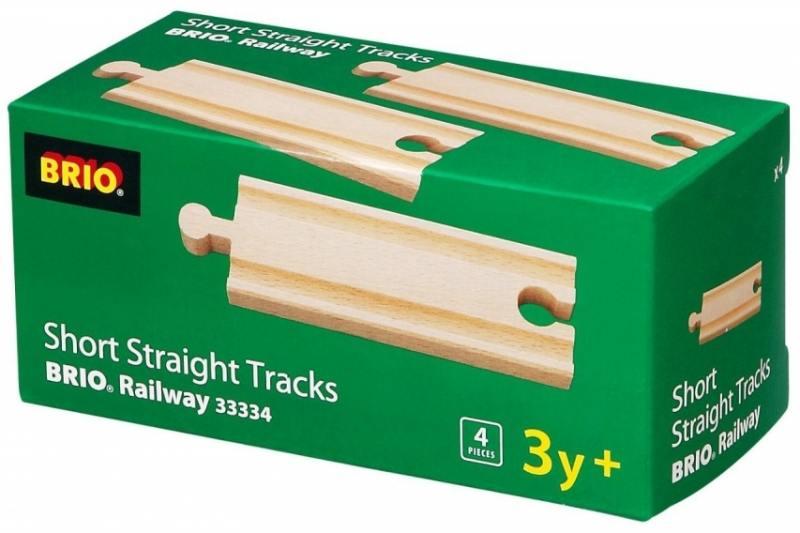 Железная дорога Brio полотно прямое 33334