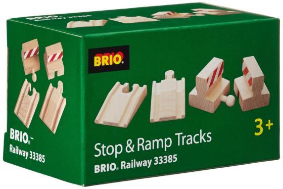 Набор ж/д Brio с подъемами и тупиками паром для ж д brio