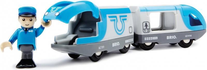 Поезд Brio Экспресс с машинистом игровые наборы море чудес набор грот русалочки