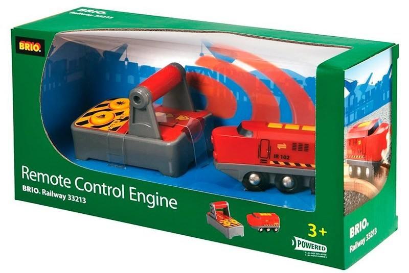 Паровоз Brio на радиоуправлении с пультом подзаряжаемый паровоз brio с mini usb кабелем