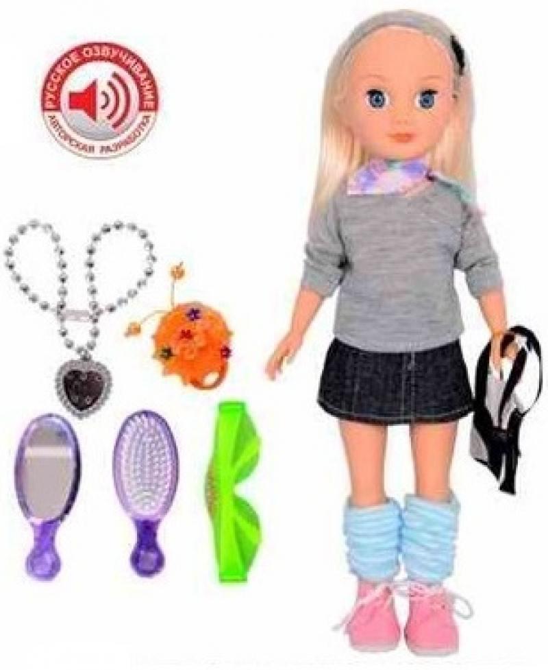 Zhorya кукла с аксессуарами на бат., звук, 32,5х4,5х16см Х75555 кукла zhorya ирина х76251