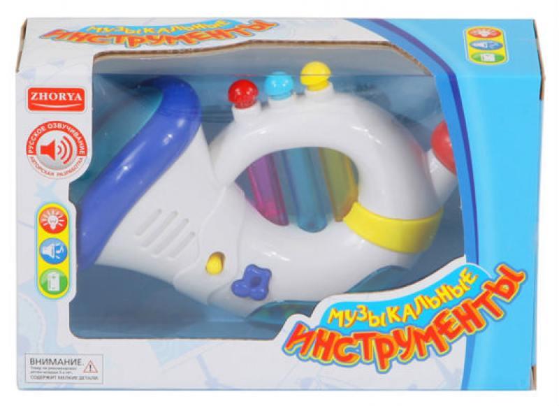 Музыкальная игрушка Zhorya Музыкальный инструмент Х75256 lilliputiens курочка офелия музыкальная игрушка