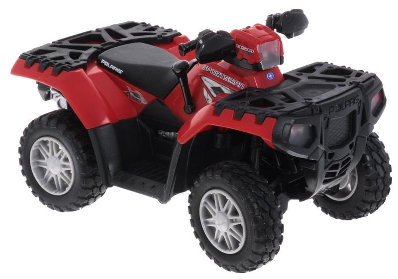Квадроцикл Tomy Polaris ATV машины tomy трактор john deere 6830
