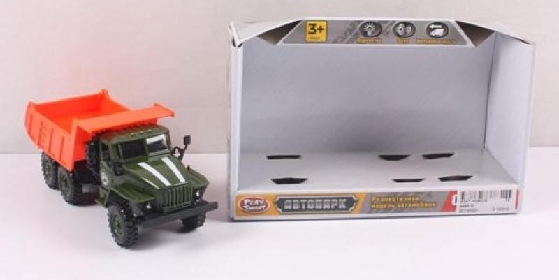 Машинка инерционная Play Smart Автопарк 19х11х8см автомат play smart снайпер р41399