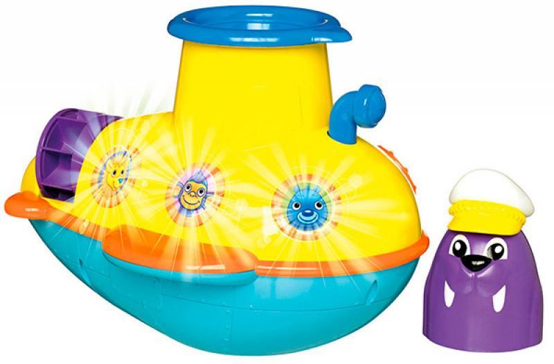 Заводная игрушка Tomy для ванны Подводная Лодка заводная игрушка для ванны бобер серфингист звук