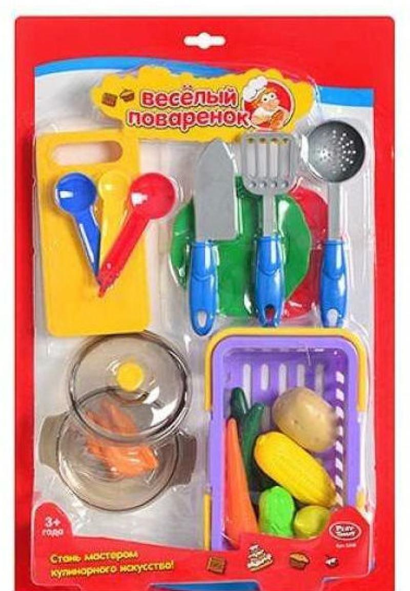 Play Smart кухонные принадлежности и муляжи Веселый поваренок, 47х30см Р41343 кухонные принадлежности анетта белый р 260х150