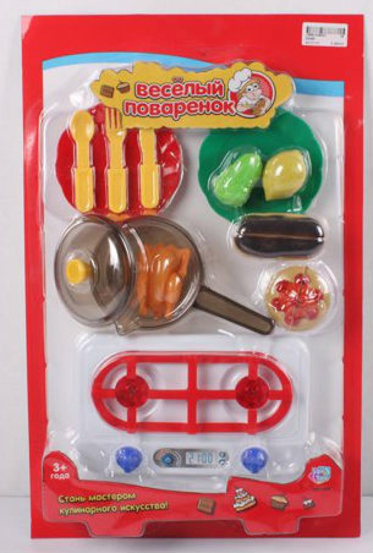 Play Smart кухонные принадлежности и муляжи Веселый поваренок 47х30х6см Р41451 муляжи для занятий с беременными