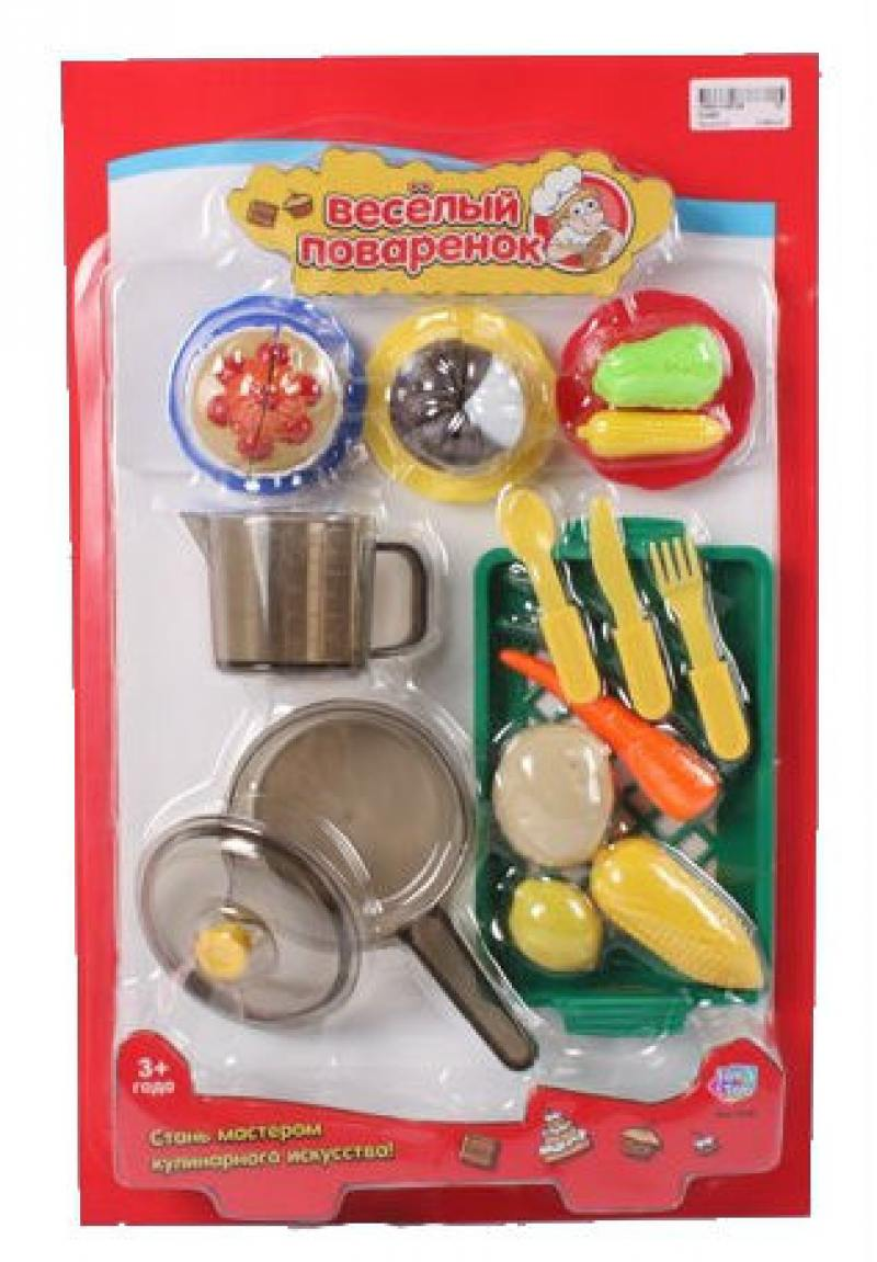 Play Smart кухонные принадлежности и муляжи Веселый поваренок, 47х30см Р41345 кухонные принадлежности анетта белый р 260х150