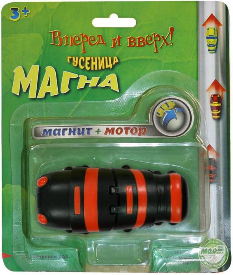 Интерактивная игрушка ECLIPSE TOYS Гусеница Магна (черная) MM8930B