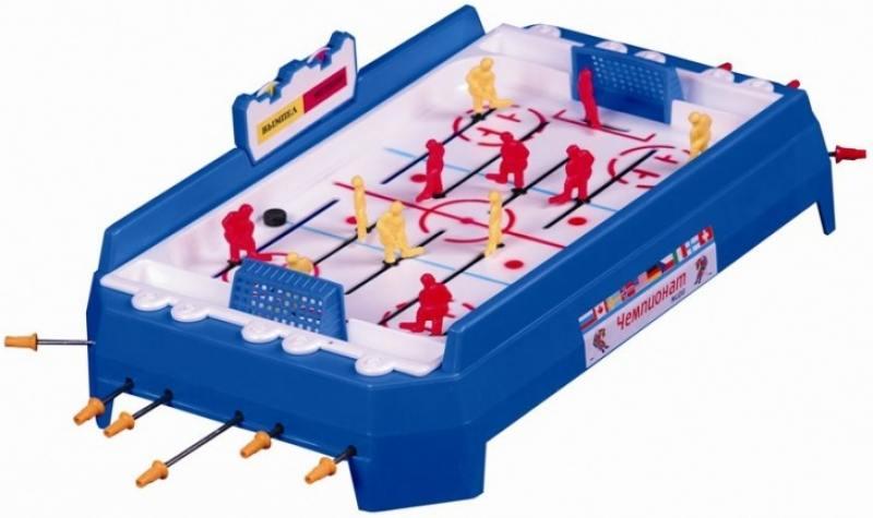 Настольная игра спортивная Огонек Хоккей 01100 настольная игра спортивная аэрофутбол