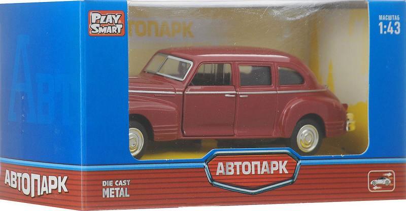 Купить Инерционная металлическая машинка Play Smart Автопарк Зис-110 Р41145, Игрушки