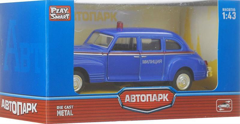 Фото - Инерционная металлическая машинка Play Smart Автопарк Зис-110 Р41141 конструктор nd play автомобильный парк 265 608