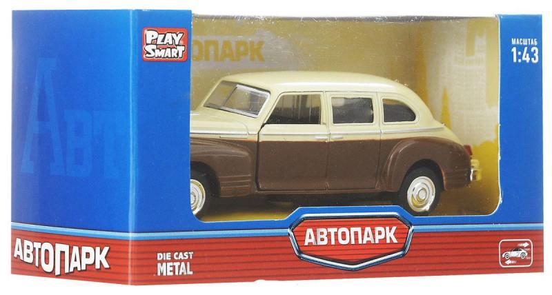 Фото Инерционная металлическая машинка Play Smart Автопарк Зис-110 Р41144