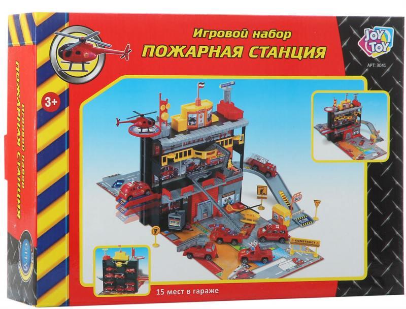 """Play Smart игровой набор """";Пожарная станция"""", 26х36х9см Р41446"""