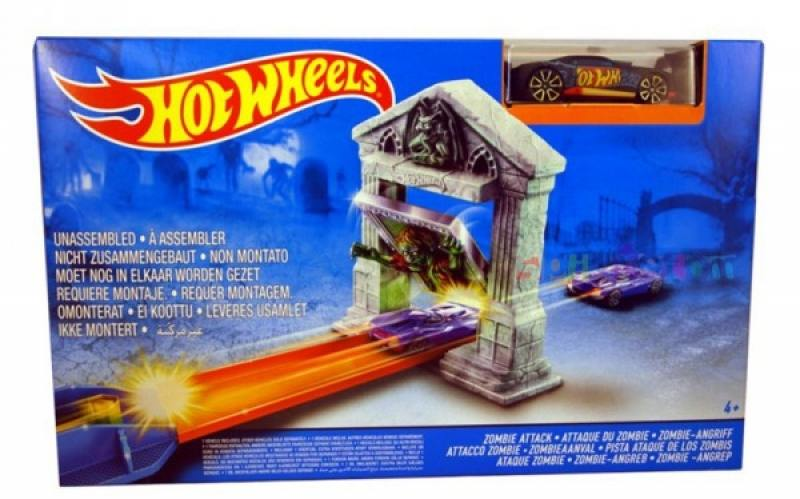 Игровой набор Hot Wheels Серия Треки Опасный мост DJF03