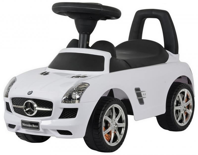 Каталка-автомобиль RT Mercedes-Benz с музыкой - белый 332