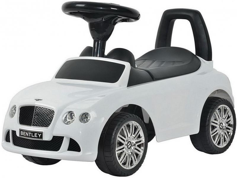 Каталка-автомобиль RT Bentley с музыкой - белый 326 rt 326 каталка автомобиль bentley с музыкой красный