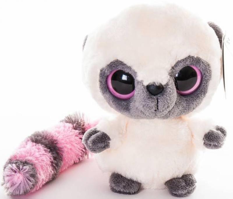 Мягкая игрушка Aurora Юху и его друзья - Юху 12 см розовый плюш aurora мягкая игрушка панда 12см юху и друзья aurora